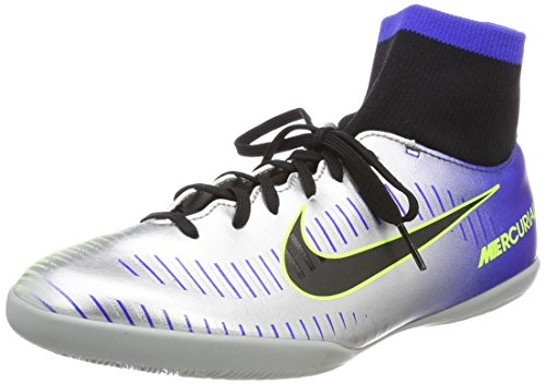 Nike Unisex Mercurial Victory VI DF Neymar Indoor Fitnessschuhe, Mehrfarbig (Racer Blue/Black-Chr 407), 38 EU
