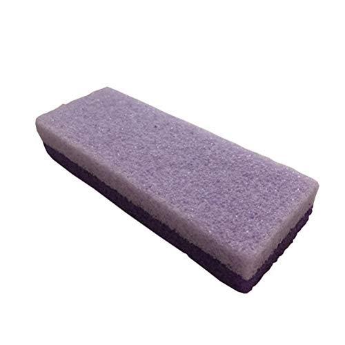 Suszian Pumice Stone Callus Remover Scrubbe, 2 en 1 Pumice Stone Foot Stone Hard Skin Callus Remover Pédicure Outils pour Les Pieds, Exfoliation Pedicure Tools