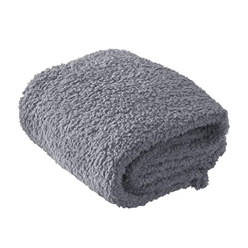 Fleecedecke für Hunde Katzen Warme Weiche Decke für Haustier Hundedecke Katzendecke Fleece Decke Tier Schlafdeck für Hundebett Sofa Couch 100 * 120 CM