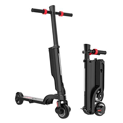 JKJ Scooter eléctrico Potente de 250 vatios-Adulto Scooters eléctricos de 5.5 Pulgadas Amortiguador de Primavera Bicicleta eléctrica de trayecto, Bocina Bluetooth