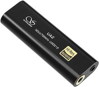 SHANLING UA2 ES9038Q2M HiFi Audio Portable USB DAC Headphone AMP Cable