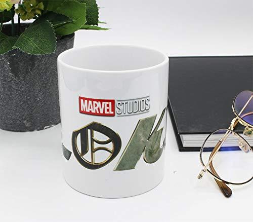 Taza de Marvel Loki con logo