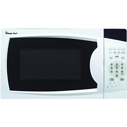 Lowest Prices! Magic Chef MCM770W Countertop Microwave White .7 Cu ft 700W W/Digital Touch Home & Ga...