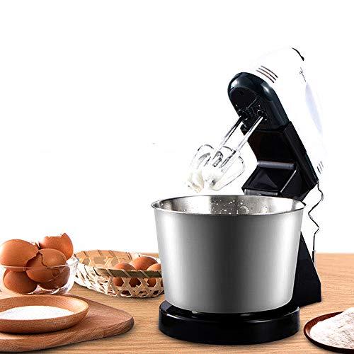 XUDREZ Electric Stand Mixer,7 Speed Cake Stand Mixer Baking Food Mixing Bowl Beater Dough Multi Blender