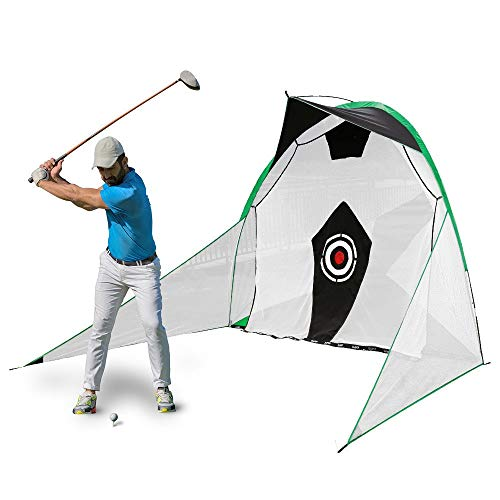 Read About YAOSHIBIAN- Net Golf Hitting Netting Personal Driving Range for Indoor Or Outdoor Golfing...