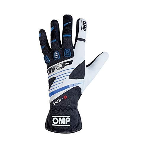 Omp OMPKK02743E175M My2018 Ks-3 Handschuhe, Weiß/Schwarz, Größe M