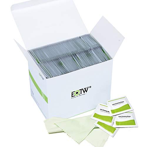 Bildschirm Reinigungstücher Einzeln Verpackt, EOTW Disin fection Reinigungstücher für Handy/Monitor/Laptop/iPad/LCD-Fernseher/Tablet PC/Tastatur/Maus, 240 Stück