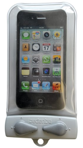 Aquapac Waterdichte tas voor elektronische apparatuurgrijs-transparant grijs Elektronic Case/Whanganui, grijs-transparant, Mini, 108
