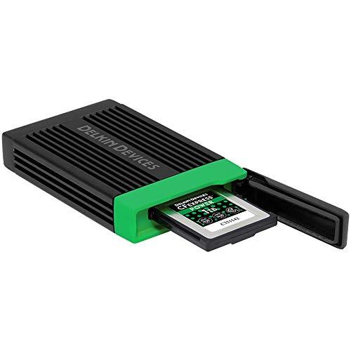 Delkin USB 3.2 Gen 2 CFexpress メモリーカードリーダー DDREADER-54