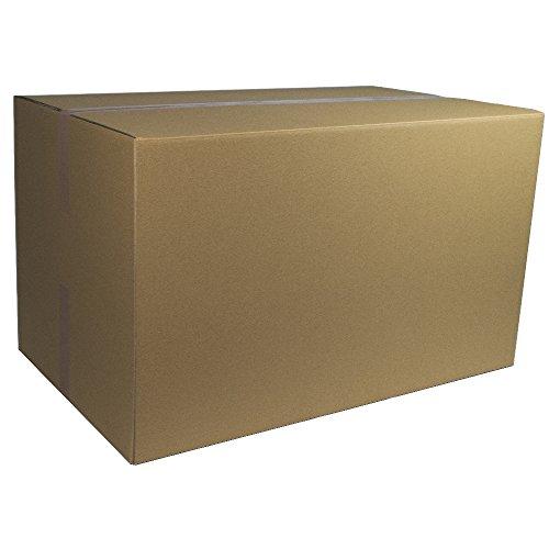 1 Karton 1000 x 600 x 600 mm für DPD und DHL Versand 2 Wellig