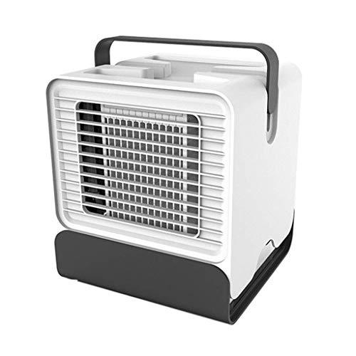 XPfj Refrigeradores evaporativos Mini aire acondicionado ABS 151 x 150 x 171 mm, refrigeración portátil ventilador de refrigeración USB (tamaño: 151 x 150 x 171 mm) (tamaño: 151 x 150 x 171 mm)