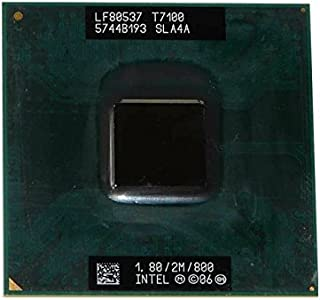 Intel Core 2 Duo T7100 1.8GHz/2MB/800 CPU Prozessor SLA4A Socket P 478-pin