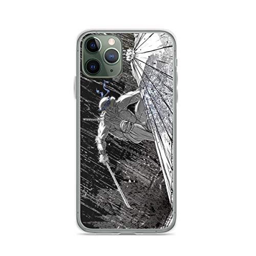 Phone Case Ninja Turtle Leonardo in The Rain Compatible with iPhone 6 6s 7 8 X XS XR 11 Pro Max SE 2020 Samsung Galaxy Accessories Waterproof