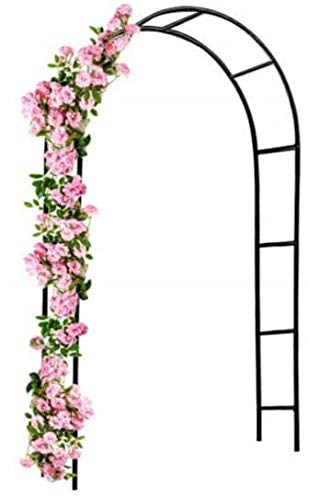 Arco per rose | Pergola in Metallo | Traliccio per Rose | Arco per Rose | Arco per Piante Rampicanti e Decorazioni da Giardino | Arco per Rose Alto | Arco per Rose Semicircola