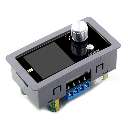 BIlinli DC-DC Convertidor Digital Boost Controlado 5A Módulo Variable de Potencia Fuente de Alimentación de Laboratorio Regulada Ajustable