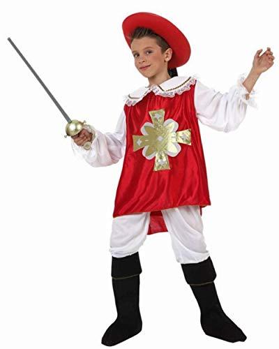 Disfraz mosquetero niño de 7 años a 9 años