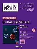 Chimie générale - Tout le cours en fiches - 3e éd - Licence, PACES, CAPES + site compagnon - Licence, CAPES, PASS