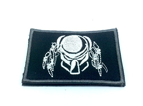 Predator Maske bestickt Softair Paintball Cosplay Patch
