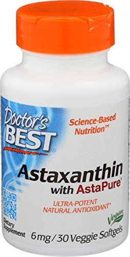 Doctor'S Best 6Mg Astaxantina Supplemento 30 Capsule - 300 g