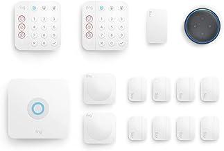 Ring Alarm 14-piece kit (2nd Gen) bundle with Echo Dot (3rd Gen) - Charcoal