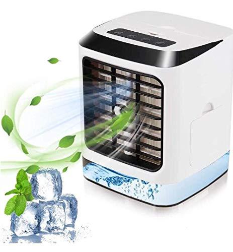 Portable Mobile Air Cooler, Kleine Drie-in-één Air Conditioner Cooler En De Luchtbevochtiger, Mini Verdampingskoeler Purifier, 3 Fan Speed, Gebruikt In Huis Office Huishoudens