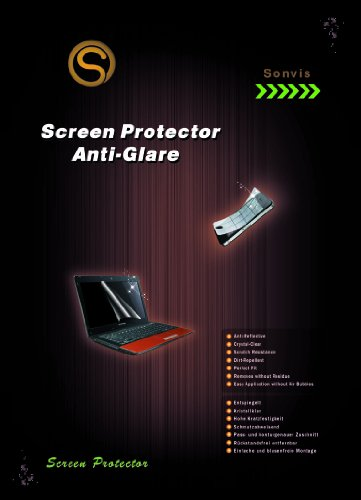 Anti Glare Screen Protector 15.6'' inch Laptop/Notebook [345x194mm] Universal anti reflection