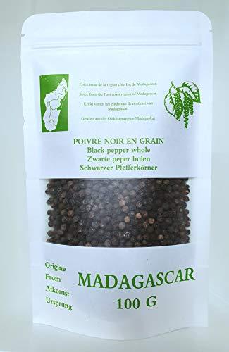 Poivre noir de Madagascar 100 G