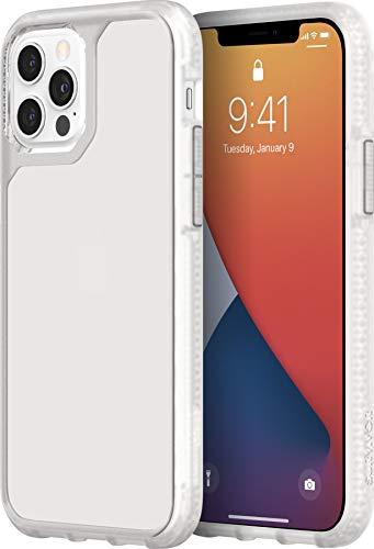 Griffin Technology Survivor Strong - Funda para iPhone 12/12 Pro (6,1 Pulgadas) [3 m Resistente a caídas I Esquinas amortiguadoras I Funda Compatible con Qi para teléfono móvil (Transparente)