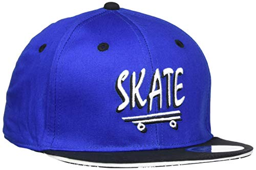 maximo Jungen Basecap Skate Kappe, Blau (Bluette/Schwarz 5446), 55/57
