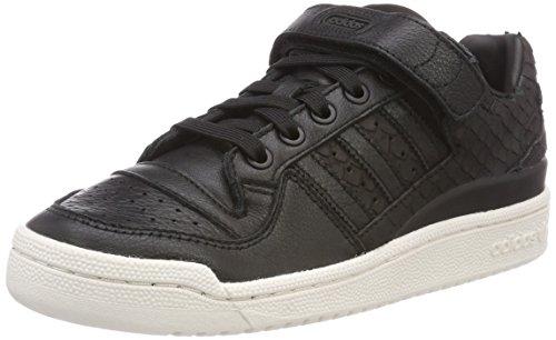 Adidas Forum Lo W, Zapatillas de Deporte Mujer, Negro (Negbas/Negbas/Blatiz 000), 37 1/3 EU