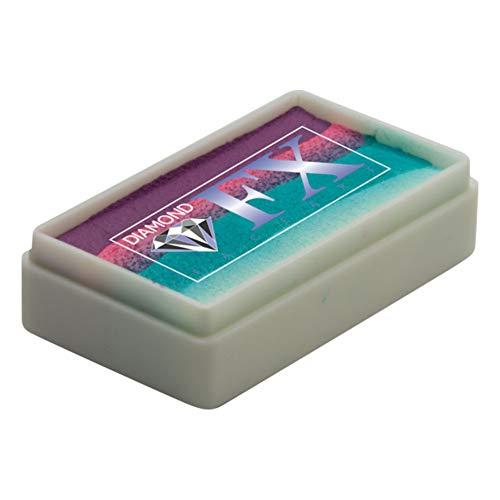 Diamond Fx De Split Cake Twisted Rs30 33 Pastels Visage De Qualité Professionnelle Peinture Gâteaux Arc En Ciel Leau Activé Peinture Visage 1 Oz