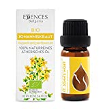 Essences Bulgaria Organic St. John's Wort Essential Oil 10ml (1/3 Fl oz), 100% Pure, Undiluted Therapeutic Grade, from Family Owned Farm