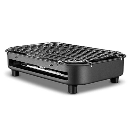 Fantastic Deal! SCYMX Multifunctional Electric Barbecue Grill Household Smokeless Teppanyaki Barbecu...