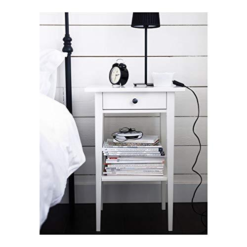 IKEA HEMNES Nachttisch 46x35x70cm weiß