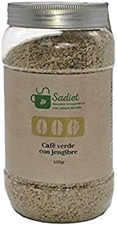 Sadiet Café Verde con Jengibre, 500 gr