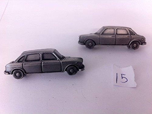 AUSTIN 1800 3D Boutons de manchette Boutons de manchette voiture classique effet étain ref15