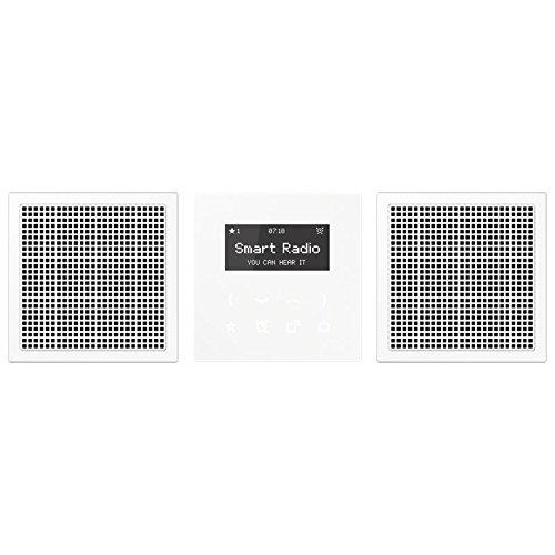 Jung Rad 928 WW Smart Radio-Set Stereo Serie LS alpinweiß