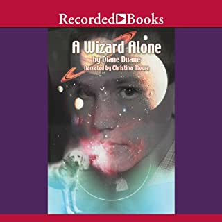 A Wizard Alone audiobook cover art