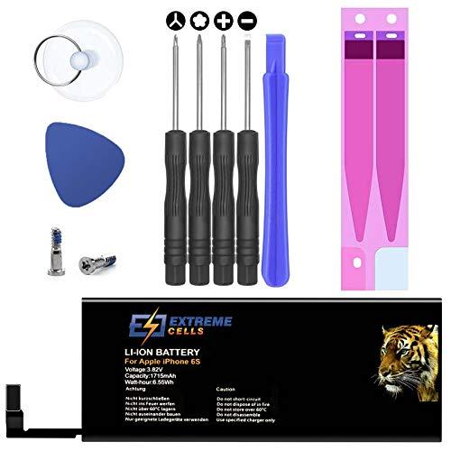 Extremecells Akku für iPhone 6s + Werkzeug Accu Batterie Battery 1715mAh