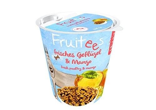 bosch Finest Snack Concept | Fruitees frisches Geflügel & Mango | Ohne Getreide | 4er Pack mit 4 x 200 g