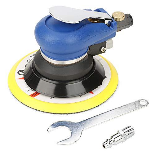"""AT-980 5\""""/ 6\"""" Air Landom Orbital Oradora Lijadora redonda Neumática Lijadora manual para pulir superficies de artículos de hierro(5 inches)"""