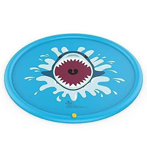 "MGE Sprinkler-Pads, Streuen und Splash-Spiel-Matte, 170 cm / 66"" Water Splash Pad Außen Wassersprenkler Pool Sprinkler for Kinder Garten"