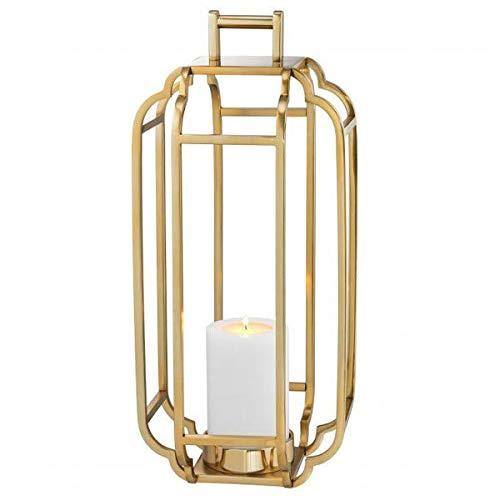 Eichholtz - Palisades - Windlicht, Laterne - Gold - Maße (ØxH): 25 x 55 cm
