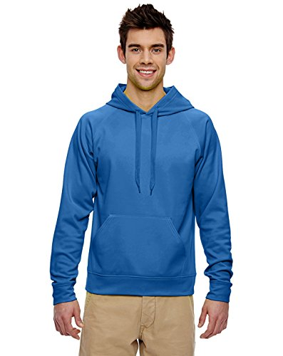 Jerzees 6 G Sport Tech en Polaire® Sweat à Capuche - Bleu - XXX-Large