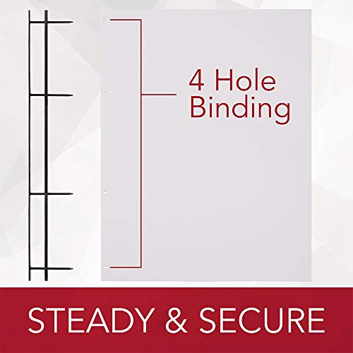 GBC VeloBind Easy-Editing Reclosable Binding Spines, 4 Pin Spines, Black, 200 Sheet Capacity, 25 Spines (9741630) Photo #4