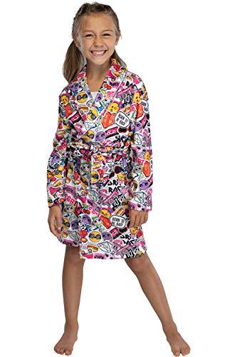 LOL sorpresa! Girl Glam Emojicon Emoji Pajama Robe 7/8