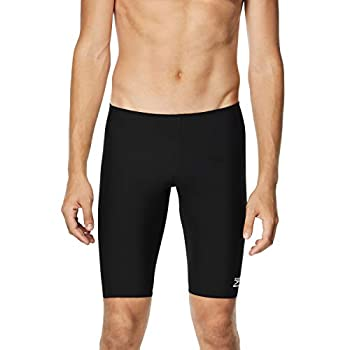 Speedo Men s Swimsuit Jammer Endurance+ Solid USA Adult,Speedo Black,32