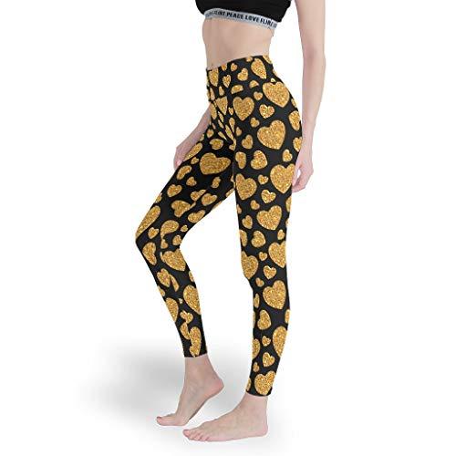 Love Girls Leggings de alto gimnasio para entrenamiento, pantalones de control de abdomen, mallas para mujer