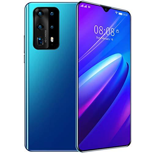 P41pro (2020) Smartphone Robusto Desbloqueado, 4GB + 32GB 4G Dual SIM Teléfonos Móviles a Prueba Agua, Pantalla 6,7 Pulgadas Batería 4800 mAh, Identificación Facial,Azul