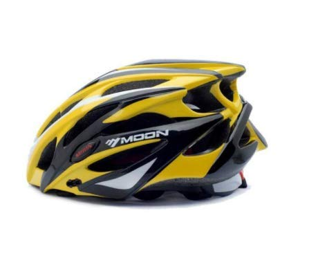 TENGGO Moon Bicicleta Casco Ciclismo Unibody Casing Ultralight Road Bike Mtb-9-L